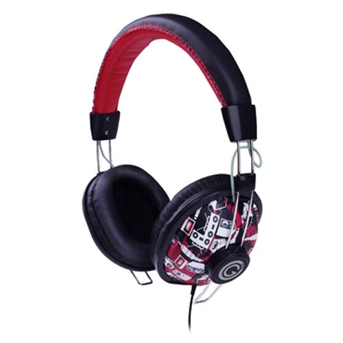 G-Cube Play GHCR-170R Headphone Red